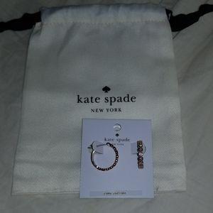 💖Kate Spade full circle hoop earrings💖